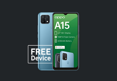 FREE OPPO A15