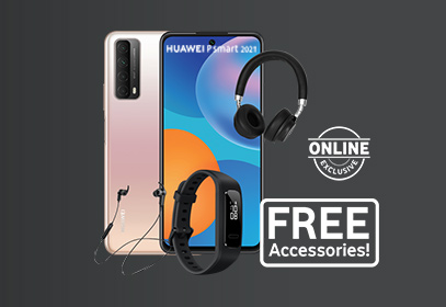 Stay active with the Huawei P smart